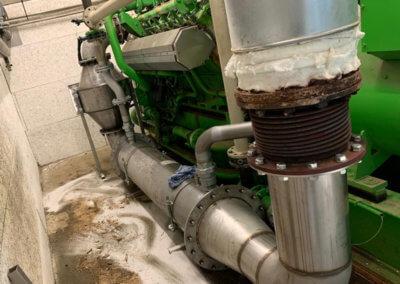Abgaswarmetauscher-DN400-wenigerAbgasgegendruck