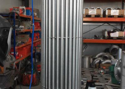 Abgastechnik Isolierung Wärmerückgewinnung