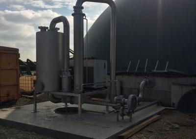 Biogasaufbereitung