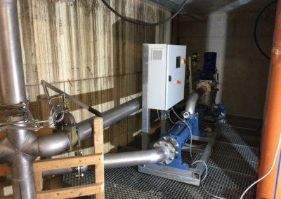 Biogaspumpe