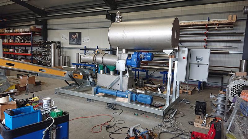 separator-AS-30-sonderkonstruktion-für-Kompost-anlage